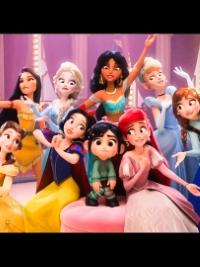 14位迪士尼公主大晒冷!