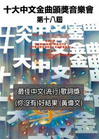 1995年度 第18屆十大中文金曲頒獎禮音樂會